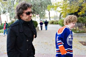 Oiler owner Daryl Katz has fallen on tough times in the Alberta capital as he was forced to dress his son for the last game.