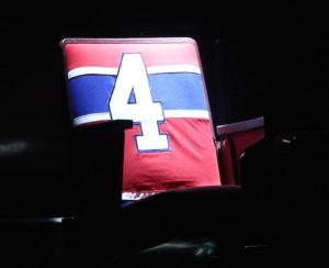 Beliveau's seat remains in spotlight entire game