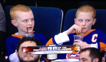 Islanders secretly luring Sedins to NY with jerseys & bottomless pop.