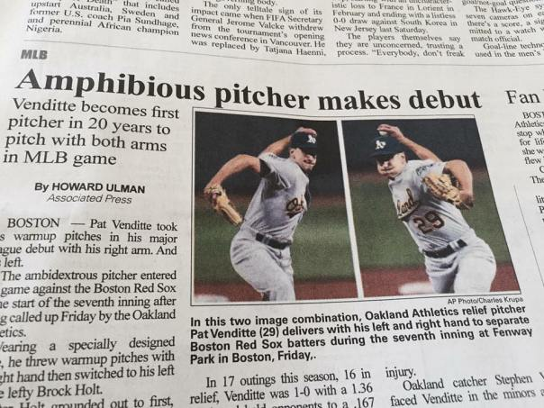 amphibious pitcher