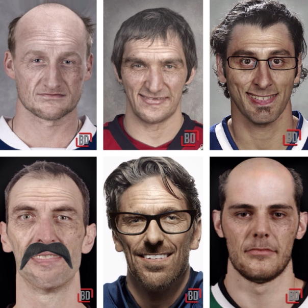Players if they were Old