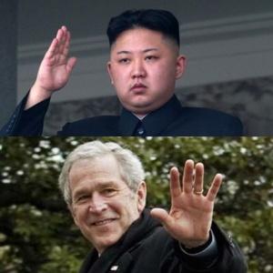 George-W-Bush-Kim-Jong-Un
