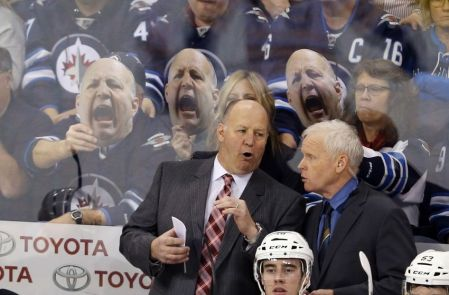 "Julien gets his version of ""The Scream."""