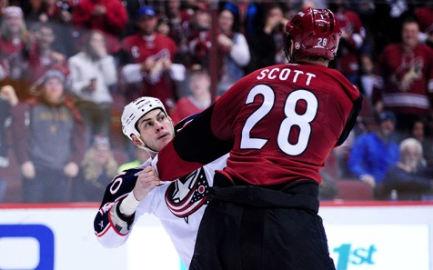 Should have been John Scott, but nooooooooooooo.