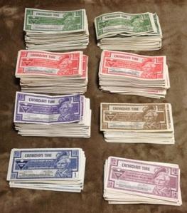 40 Bucks (in Canadian Tire money)