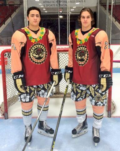 USHL's Muskegon Lumberjacks unveil gnarly beach-themed uniforms.