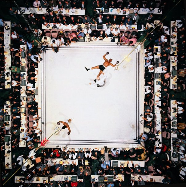 Ali knocking out Cleveland Williams