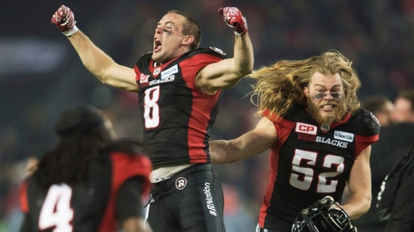 If you only watched one CFL game this year, I hope it was this one. Grey Cup goes to Ottawa (and Ren won $25!)