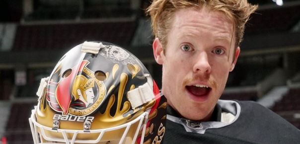 """Super Gingy"" Mike Condon also had 2 wins, a SO, and a OTL. Even with careful spelling it's difficult to convince Google that a prophylactic doesn't play goal for the Sens."