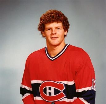 "Great photo of the ""angelic choir boy"" Chris Nilan"